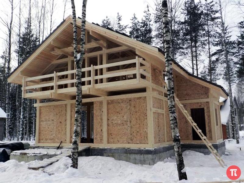 Для вас построим каркасный дом в Пензе