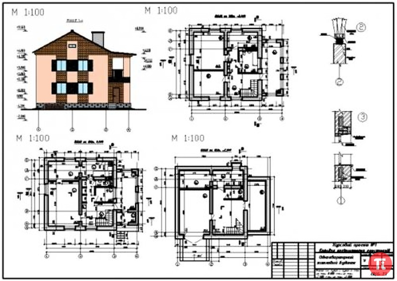 Проекты домов фото чертежи