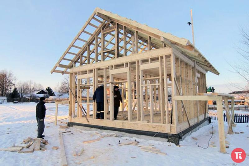 Как построить каркасный дом под ключ своими руками