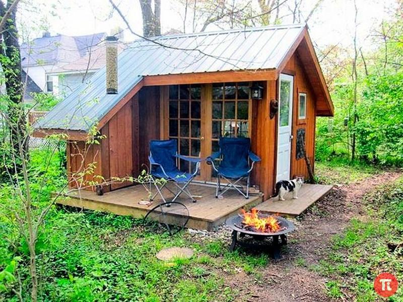 Построить дачный домик своими руками проекты фото