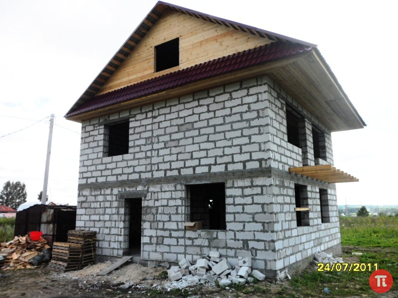 Дом из сибита своими руками от и до