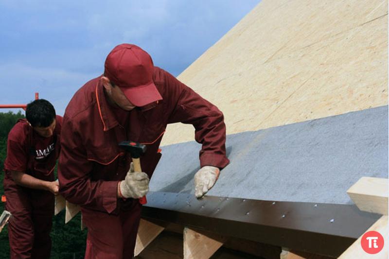 Как правильно сделать карниз крыши для гибкой черепицы
