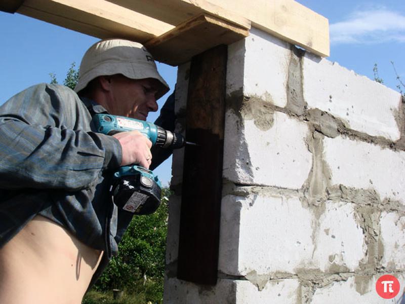 Строим дом своими руками из газосиликатного блока