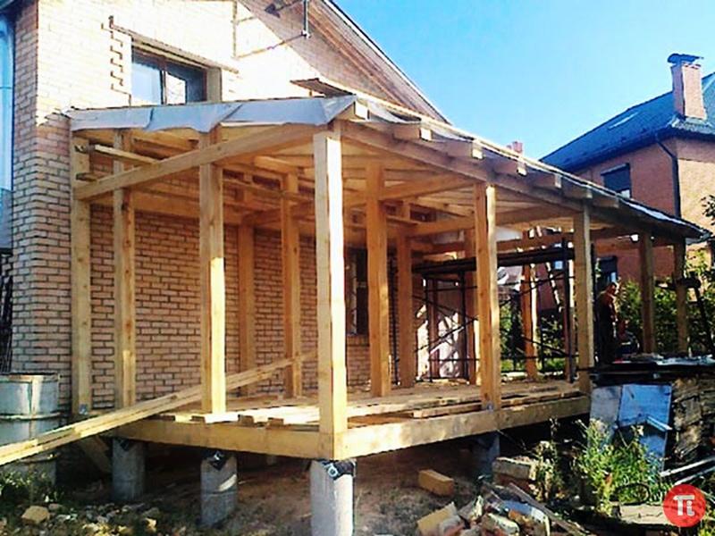 Крыша на дачный домик видео