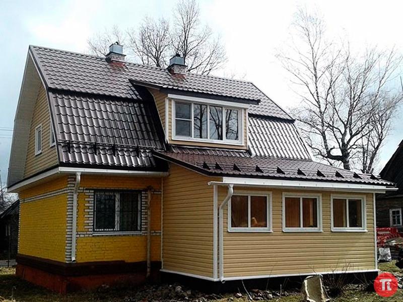 Строительство пристройка к дому