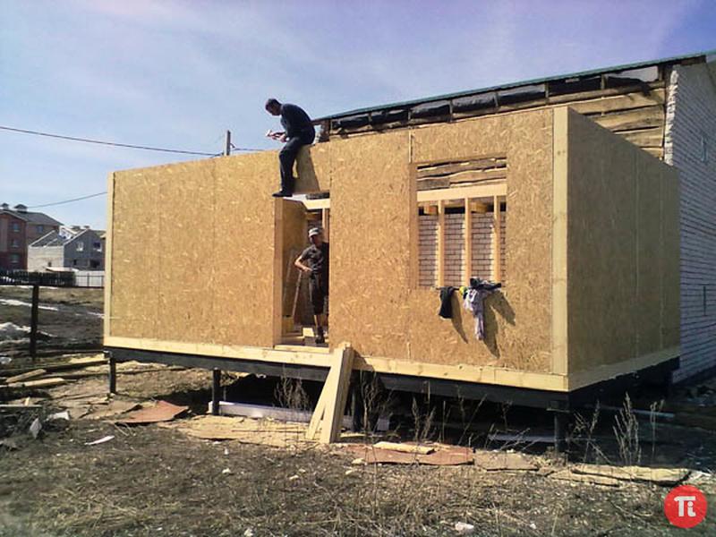 Построить пристройку к дому своими руками фото