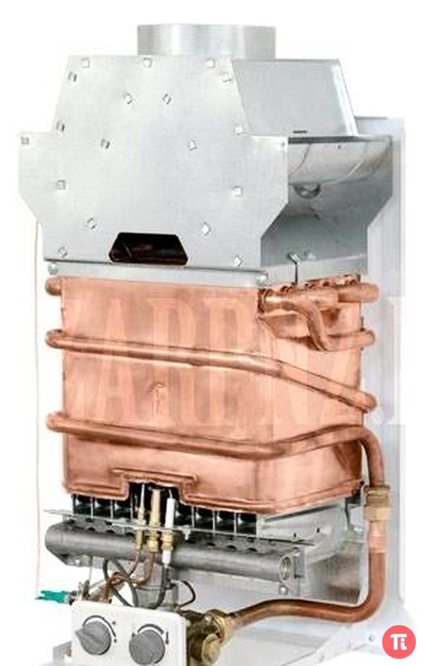 Из какого металла теплообменник газовой колонки россиянка бассейн нн теплообменник