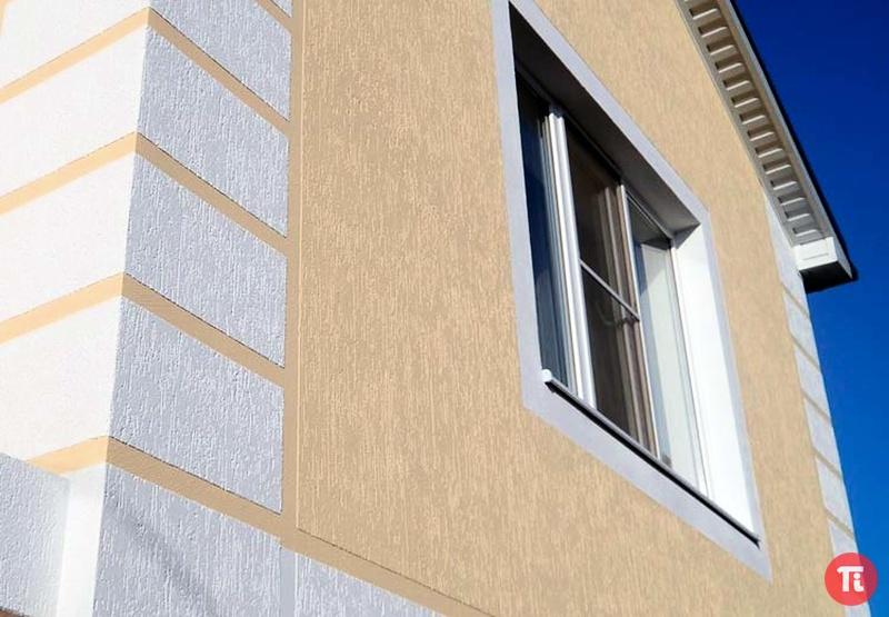 скажу, что фасадная штукатурка дождик фото домов есть зона шезлонгами