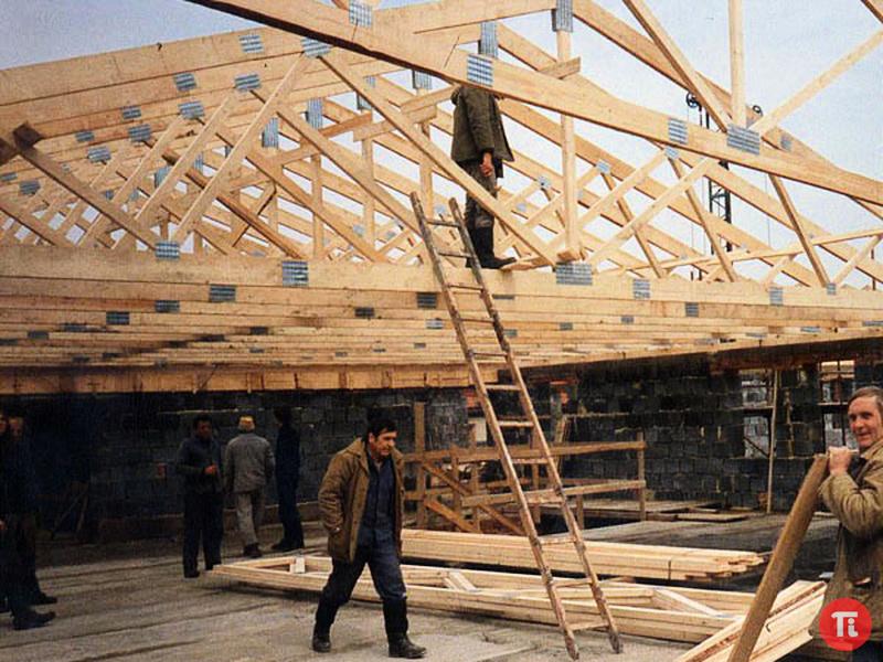 Фото строительства крыши своими руками 330
