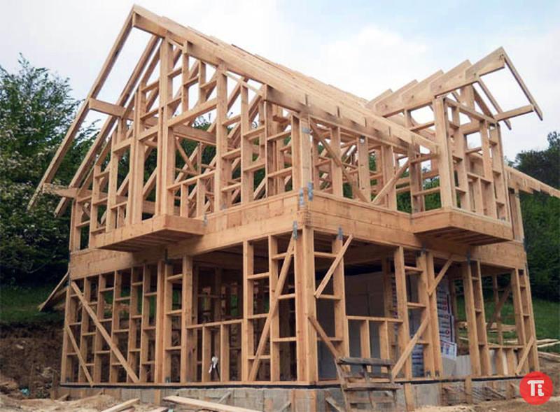 Каркасное домостроение каркасный дом145