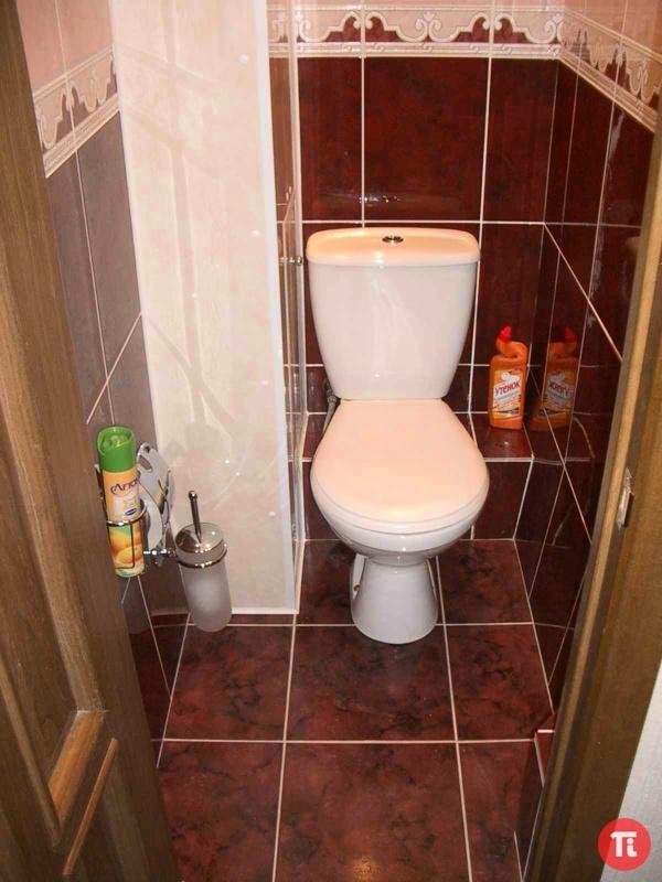Как сделать ремонт в туалете самой