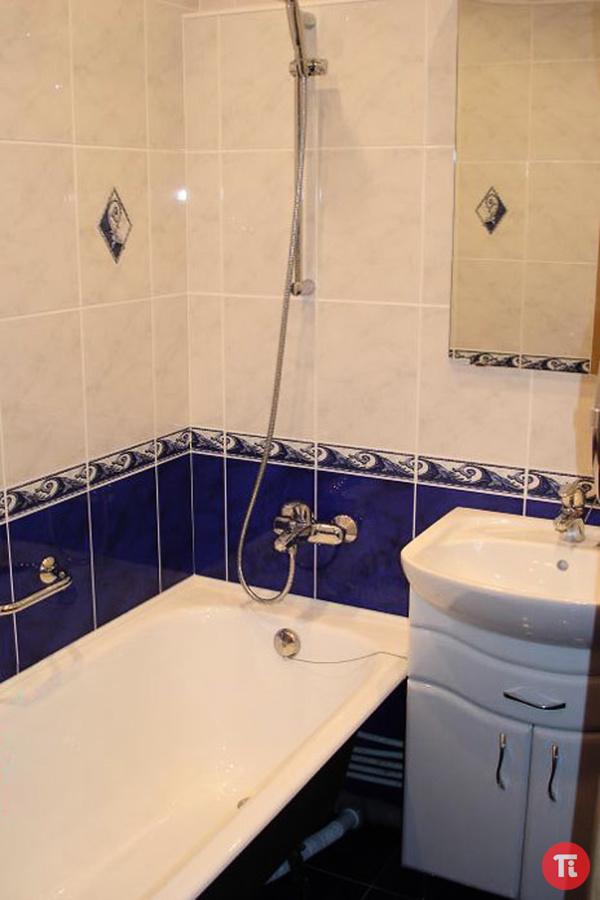 Отделка маленьких ванных комнат фото