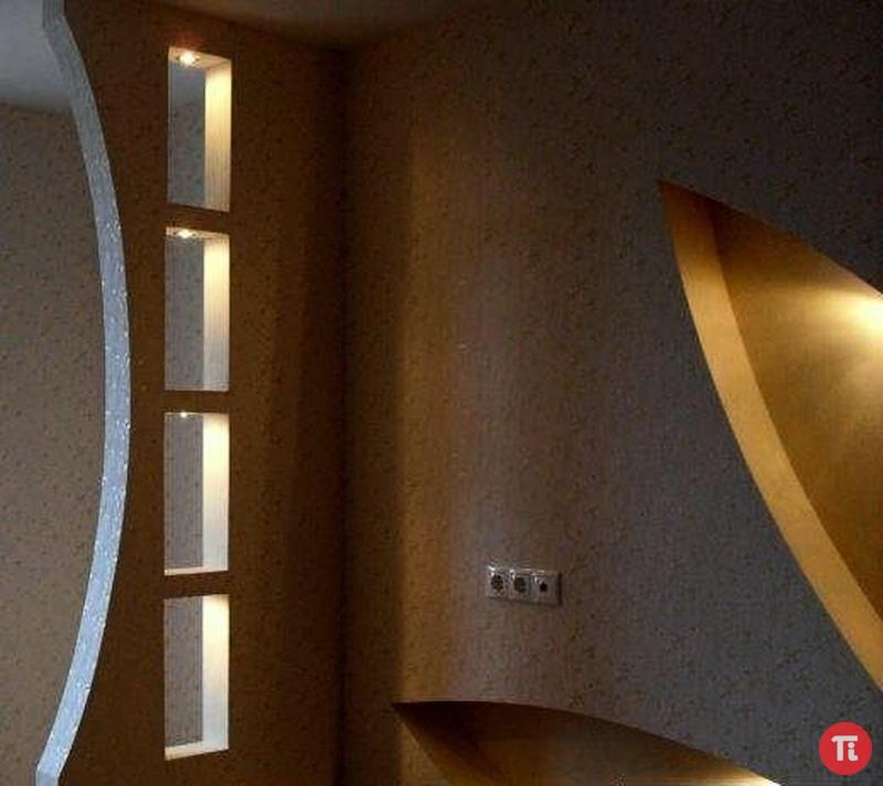 Гипсокартонная перегородка в комнате своими руками