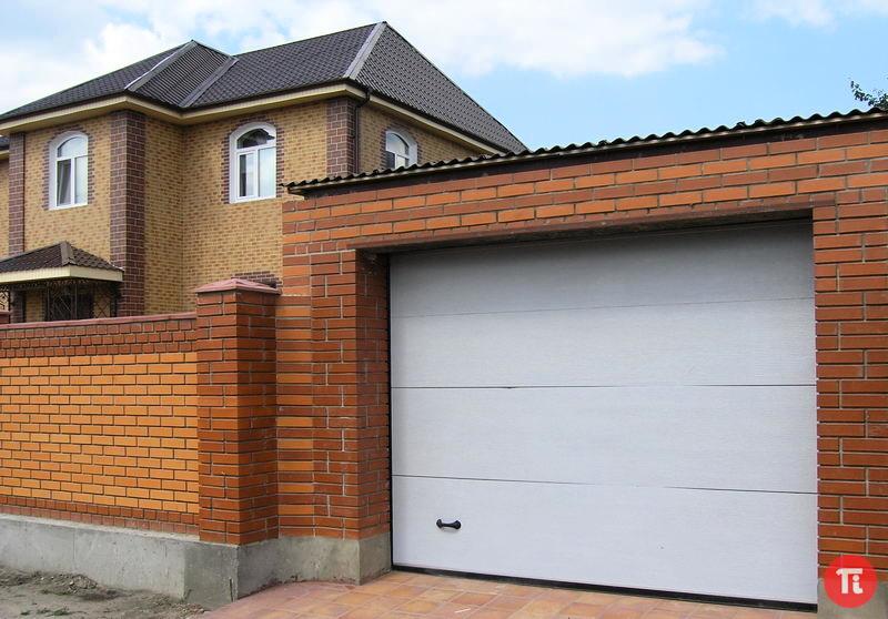 Ворота автоматические гаражные цена с установкой